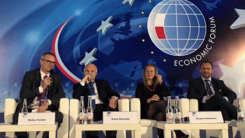 Dr. Markus Reichel als Diskutant auf dem 28. Wirtschaftsforum in Krynica