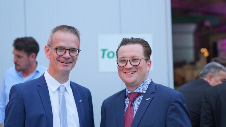 Dr. Markus Reichel und Frederic Wutzler