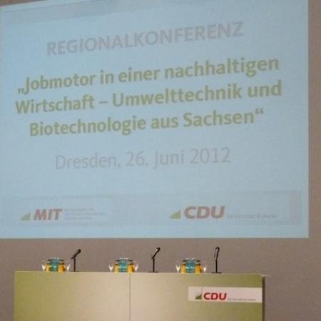 REGIONALKONFERENZ CDU & MIT SACHSEN