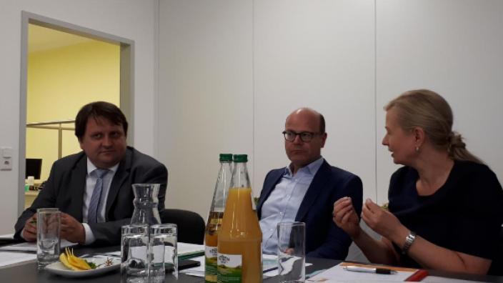 AG Gesundheitswirtschaft der MIT tagt mit Staatsminister Schenk in Markleeberg